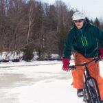 Jak ubrać się na rower zimą?
