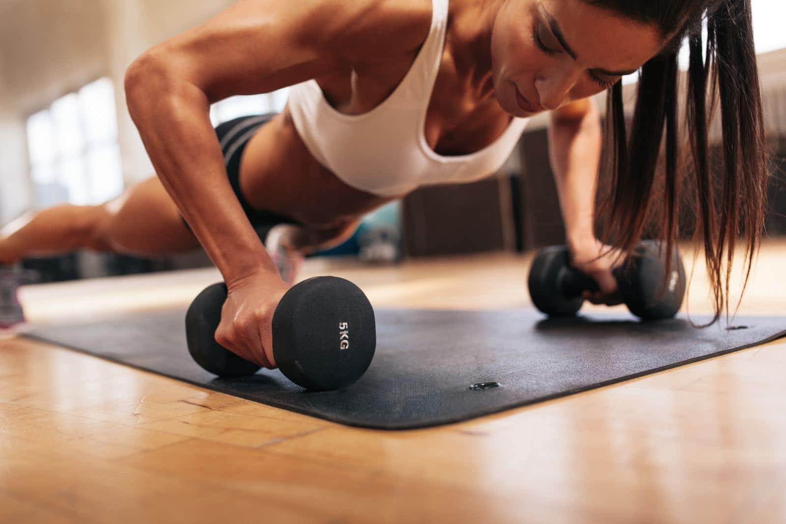 Физические нагрузки для похудения в 57