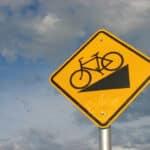Rowerowe znaki informacyjne