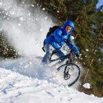 Jazda rowerem zimą: Jakie opony na śnieg do roweru MTB