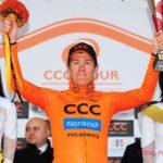 Alan Banaszek zwycięzcą ostatniego etapu CCC Tour - Grody Piastowskie