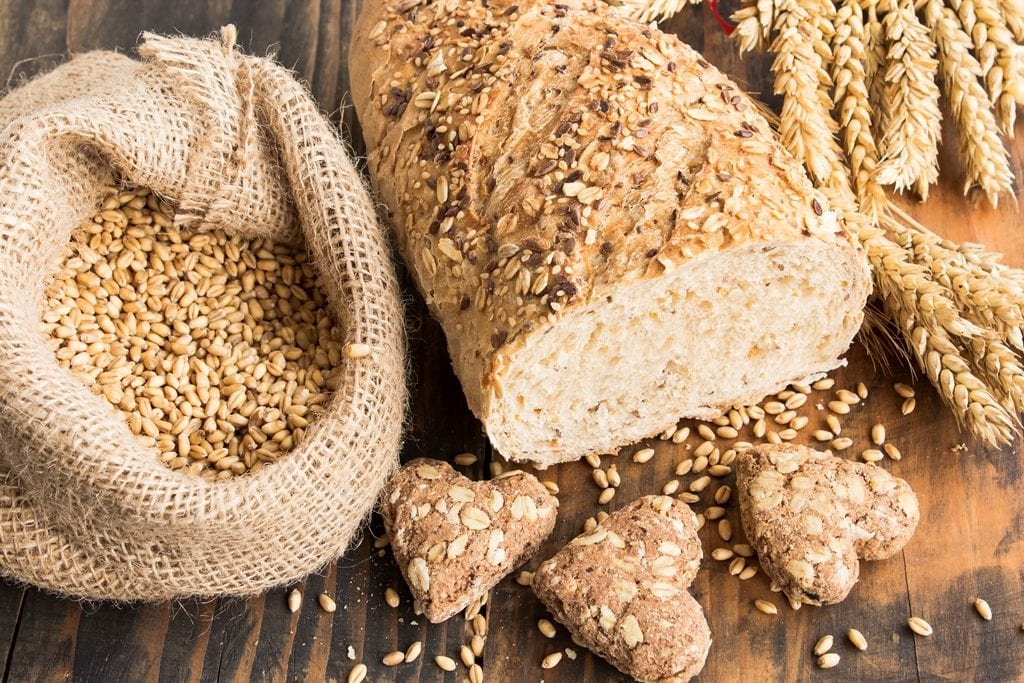 Products from wholegrain wheat